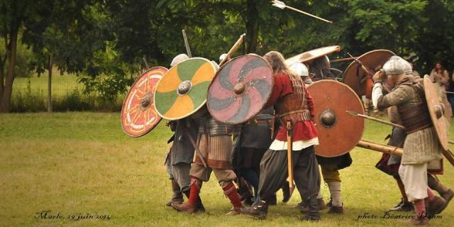 28 & 29 juin, journées vikings de Marle 10437010