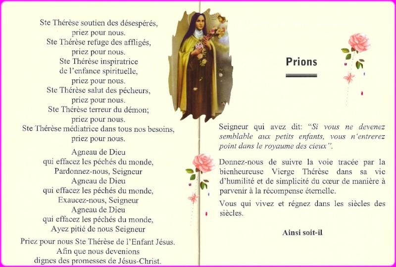 Neuvaine à Sainte Thérèse de Lisieux (22 Septembre / 1er octobre) Thyrys11