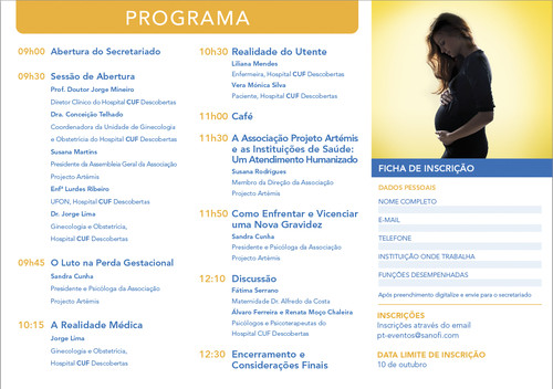Workshop Hospital CUF Descobertas -Luto na Perda Gestacional 17313212
