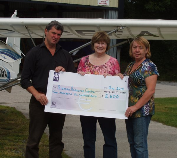 Tibohine Fly-in Thank you.. Cheque10