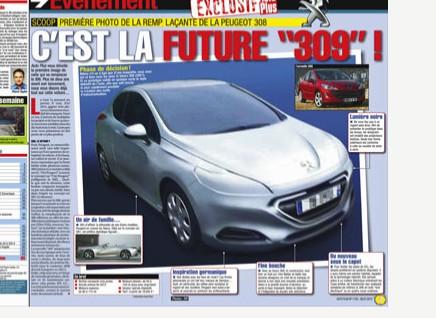 Peugeot 309 Futurs Modeles Autopassion