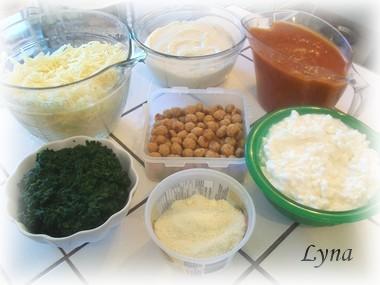 Grosses lasagnes avec pâtes fraîches (photos par étape) Lasagn16