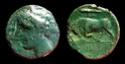 495 - AE 20 Hierón II 275-215 a.C. 495n10