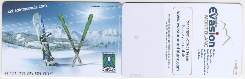 KeyCard Saint Gervais Mont Blanc 00139
