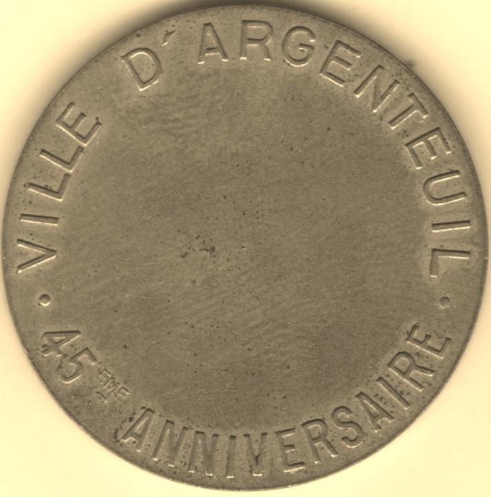 Mdp 30 mm - Médailles des Villes 00310