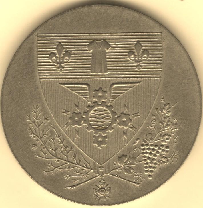 Mdp 30 mm - Médailles des Villes 00410