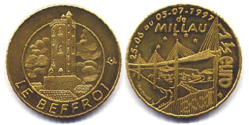 Millau (12100)  [UECQ / Montpellier-le-Vieux UEDX] 1210
