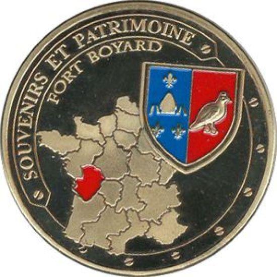Souvenirs et Patrimoine 40mm  17b10