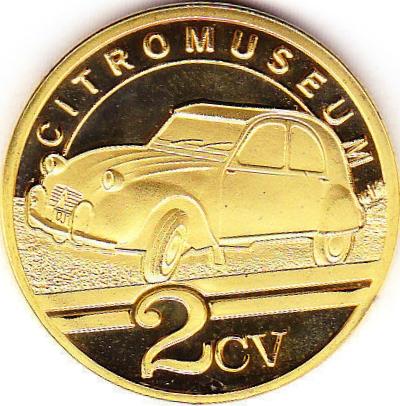 Souvenirs et Patrimoine 34mm  2cv11