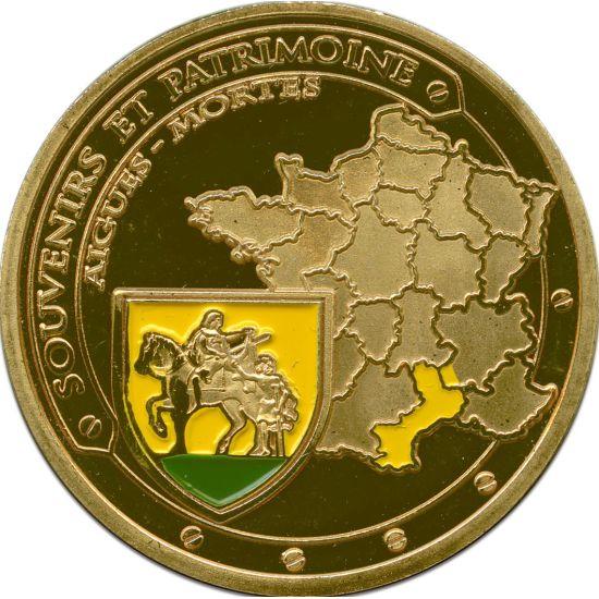 Souvenirs et Patrimoine 34mm  30v10