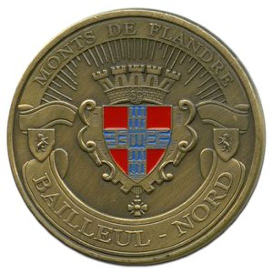 Souvenirs et Patrimoine 40mm =  20 59bv10