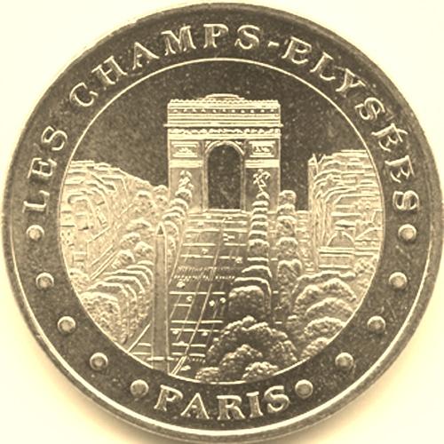 Champs Elysées (75008) [Librairie Biret / UECZ] 7515