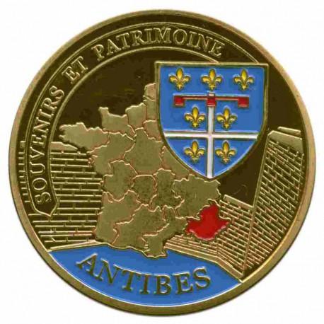 Souvenirs et Patrimoine 34mm  Antibe10