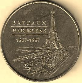 Bateaux Parisiens (75007)  [UEPJ] B17