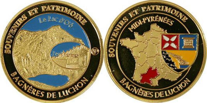 Souvenirs et Patrimoine 34mm  Bagner10