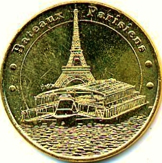 Bateaux Parisiens (75007)  [UEPJ] Bp10