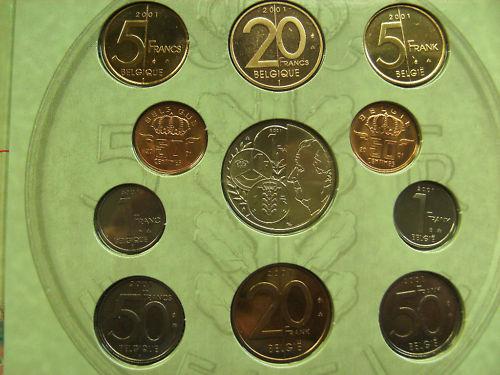 Euro Coffret Annuel Belge Cecvcw10