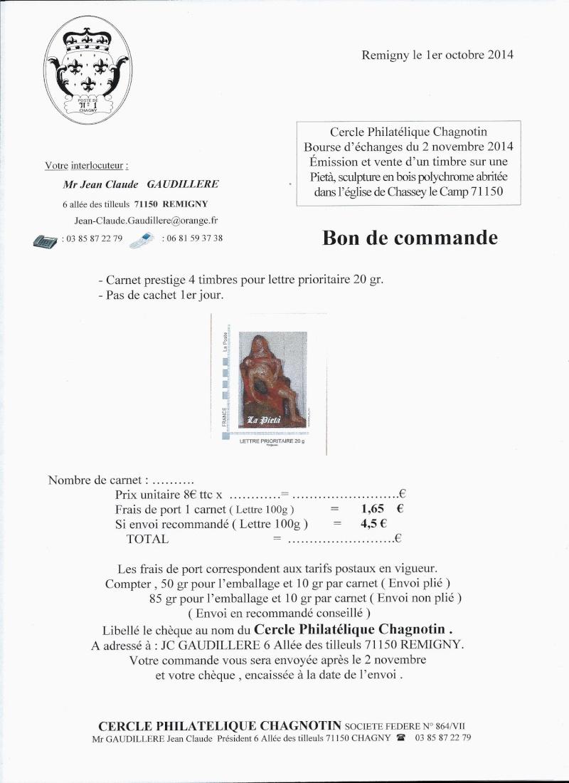 71 - Chagny - Cercle Philatélique Chagnotin Chasse10