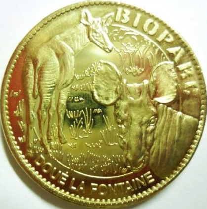 Arthus-Bertrand revers Trésors de France = 19 Doua10