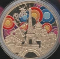 Souvenirs et Patrimoine 40mm  Eiffel10