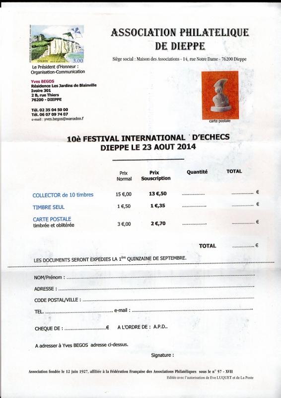 76 - Dieppe - Association Philatélique Img04510