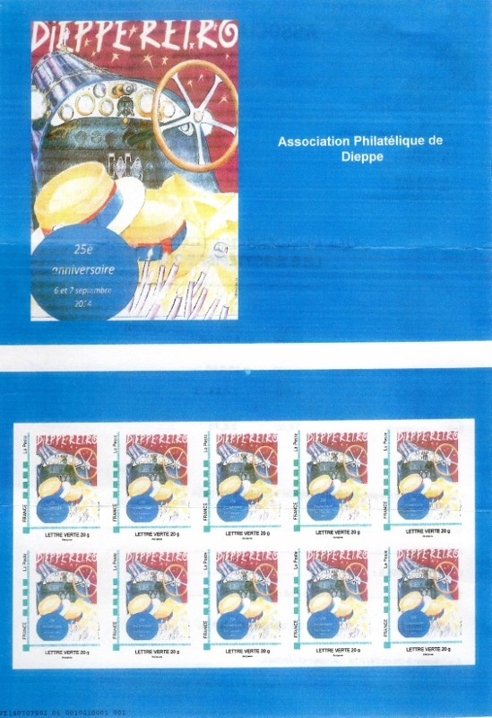 76 - Dieppe - Association Philatélique Img04810