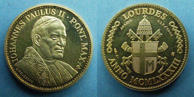 Jean-Paul II et autres Papes Jp210
