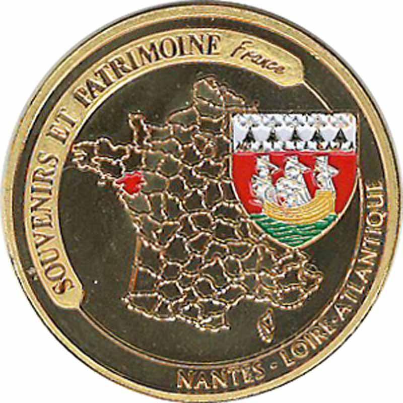 Souvenirs et Patrimoine 34mm  = 24 Nantes14