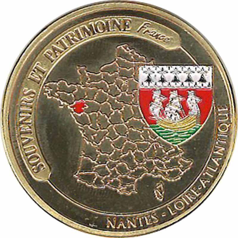 Souvenirs et Patrimoine 34mm  = 24 Nantes16