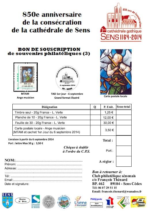 89 - Sens - Club Philatélique Sénonais Sens11