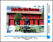 76 - Déville-lès-Rouen Timbre10