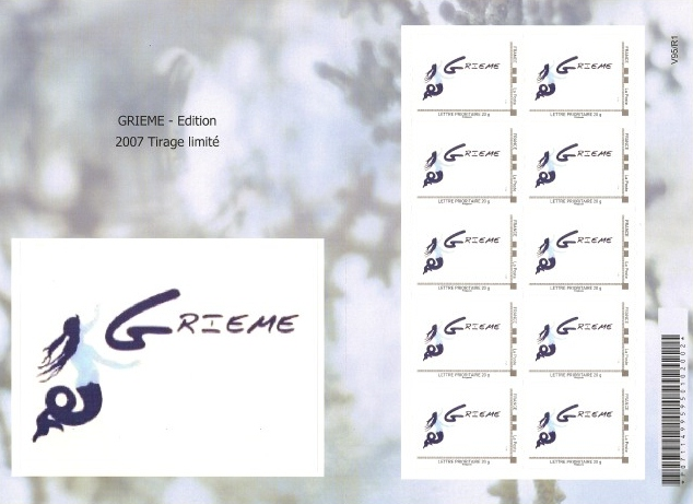 76 - Dieppe - GRIEME Timbre14