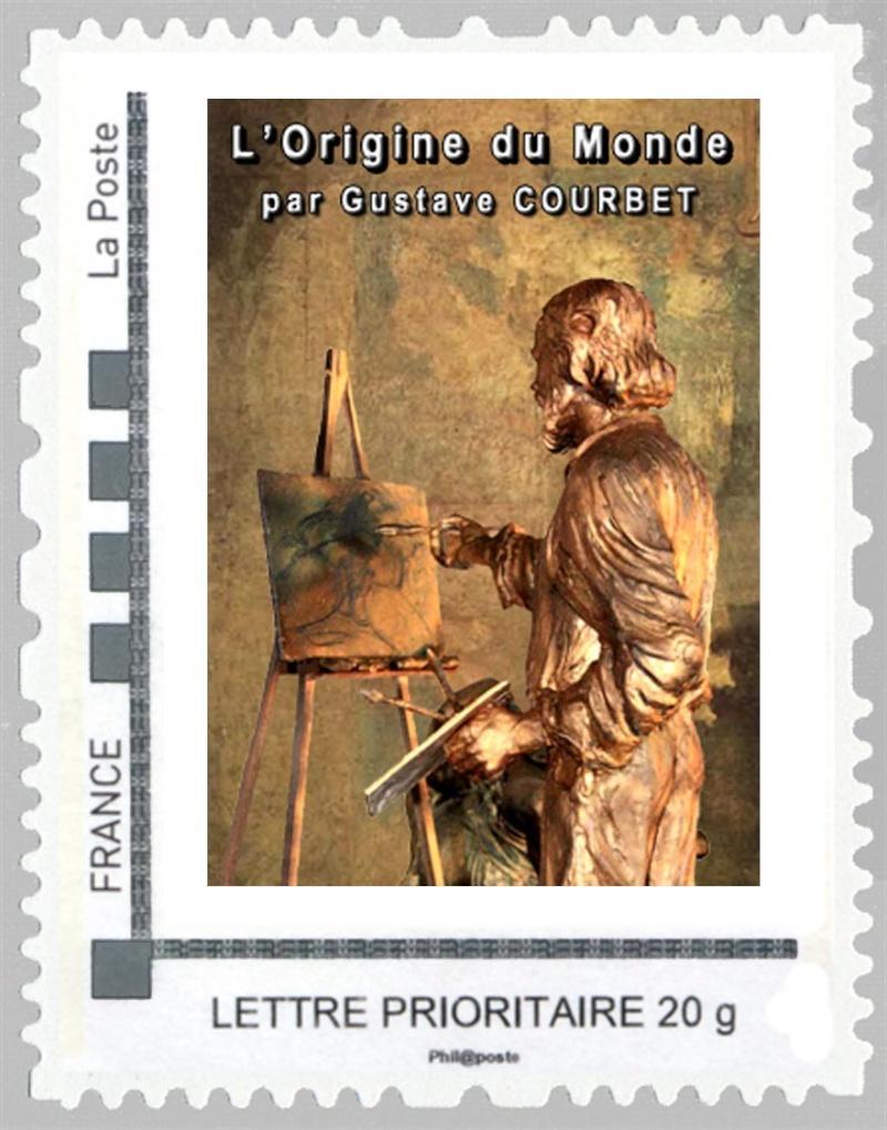 25 - Ornans - Musée Courbet Timbre22