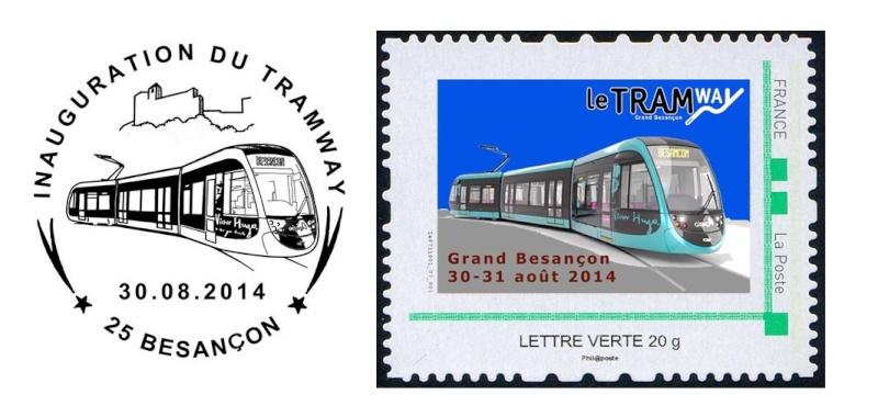 25 - Besançon - Société Philatélique   Timbre25