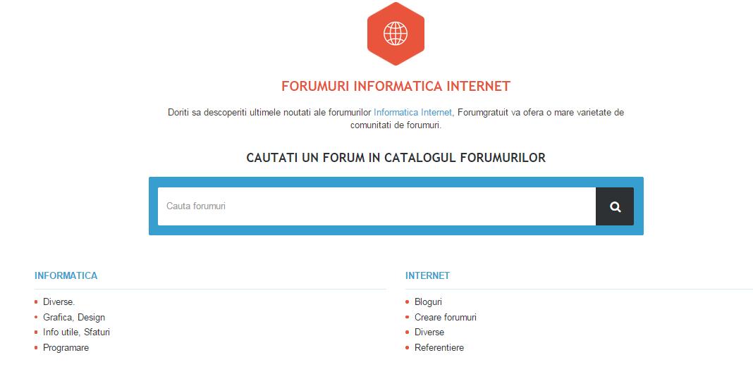 Catalogul forumurilor Asa10