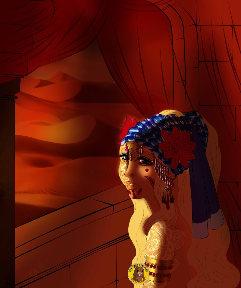 Dessins en vrac, univers de Louna >w< Sholas11