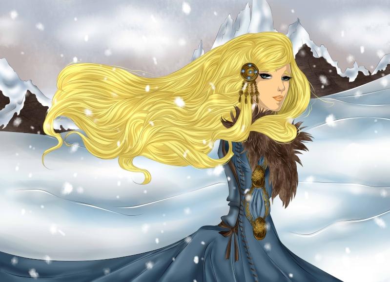 Dessins en vrac, univers de Louna >w< Viking10