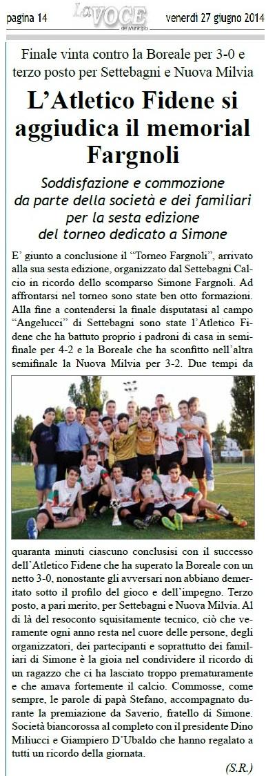 RICORDANDO SIMONE FARGNOLI - Pagina 3 Fargno10