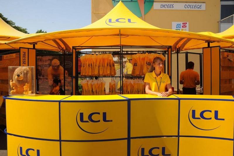 caravane publicitaire lcl 2013 10699910