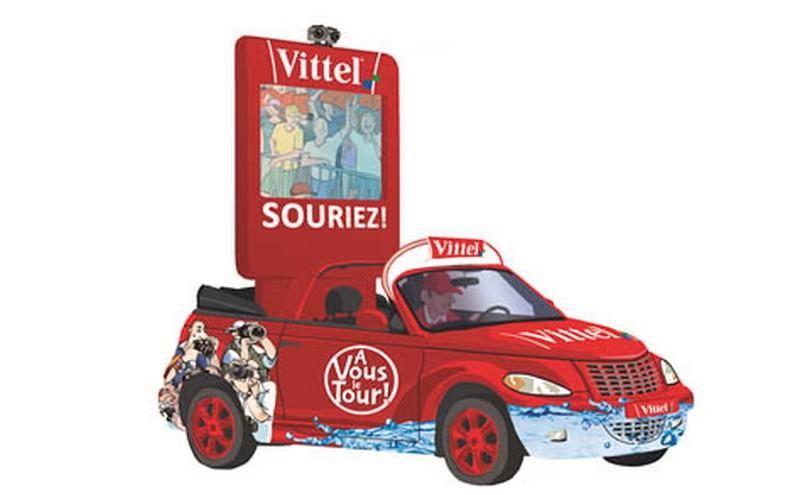 caravane publicitaire vittel Tour de France 2014   Vittel12