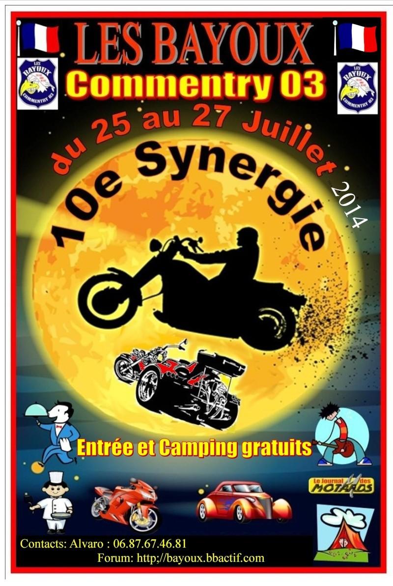10e Synnergie des Bayoux Affich10