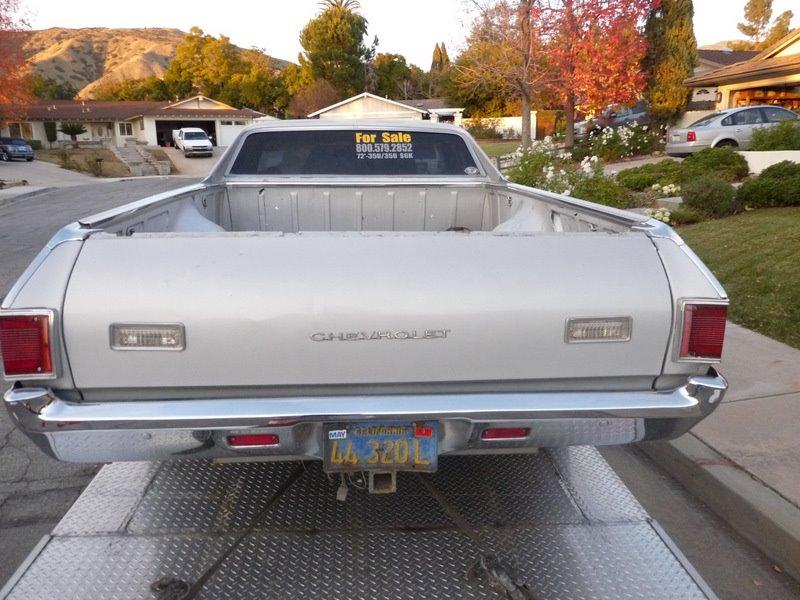 SW - 1972 Chevrolet El Camino 38143810