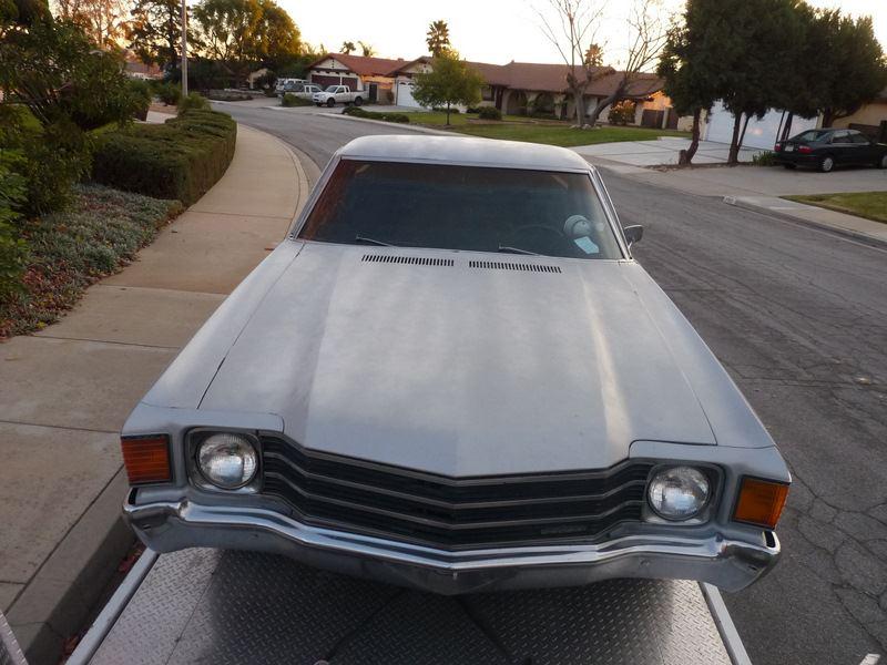 SW - 1972 Chevrolet El Camino 38731210