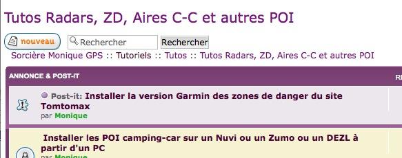 Plus de support Garmin avec XP Captur35