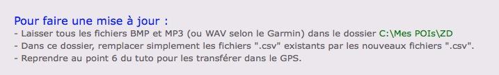 Plus de support Garmin avec XP Captur36