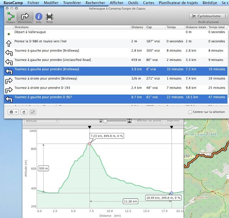 kilométrage et basecamp Captur51