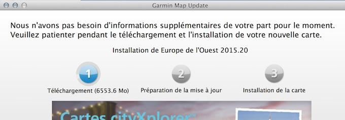 Garmin MapUpdater et Relance GPS Impossible Captur53