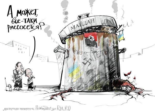 Удастся ли Порошенко провести в стране реформы на идеях Януковича и выдать их как свои… Maydan14