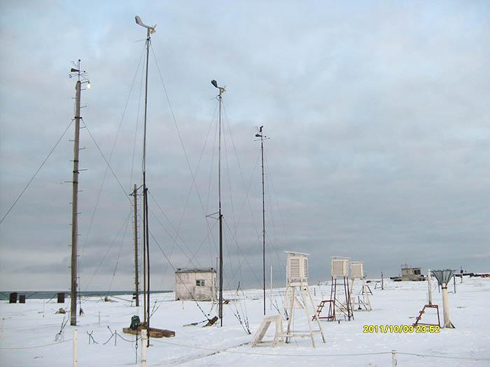 Полярная станция о. Голомянный, 5-6 октября 2011 года. 317