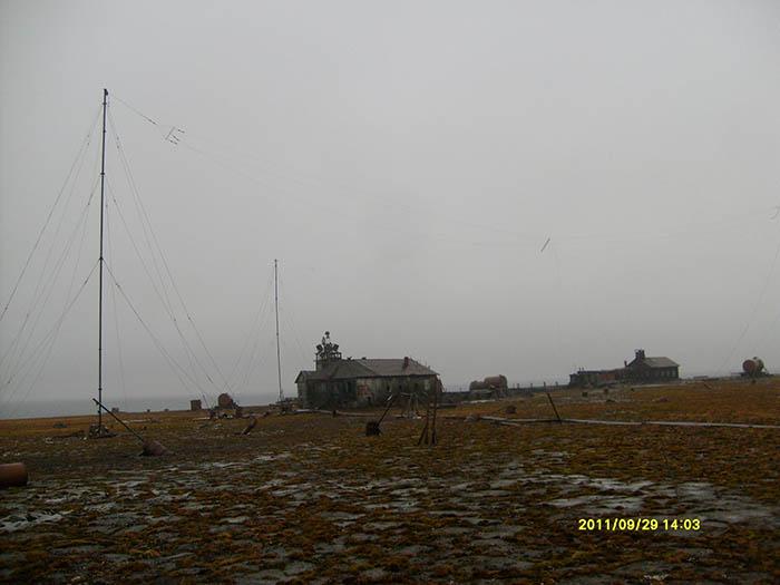 Поход на остров Русский. 613